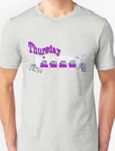 Days of the week - Thursday at the office T-Shirt