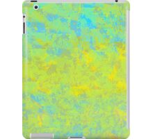 Abstract in Blue, Gold, and Green iPad Case/Skin