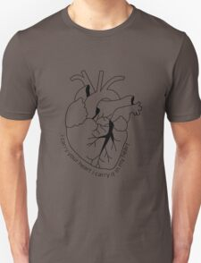 I carry your heart with me T-Shirt