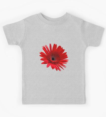 Red flower Kids Tee