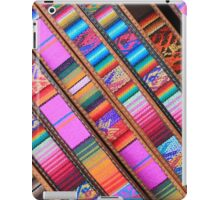Angled Cloth and Leather Belts iPad Case/Skin