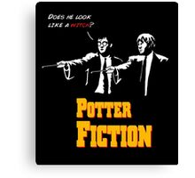 Potter Fiction Canvas Print