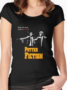 Potter Fiction Women's Fitted Scoop T-Shirt