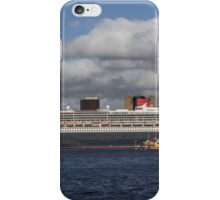 Queen Mary 2 and Dazzle Ferry iPhone Case/Skin