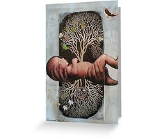 roots and branches baby Greeting Card