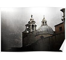 Venetian domes Poster