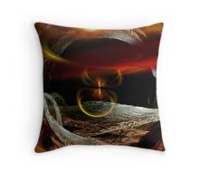 fractured time.... Throw Pillow