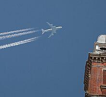 Blue sky over Swindon by J-images