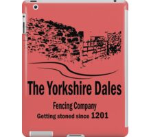 Yorkshire Dales Fencing Company iPad Case/Skin