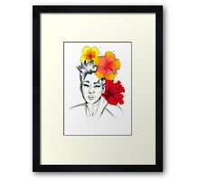 I am your FLOWER BOYFRIEND || Hyunseong  Framed Print