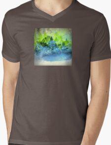 The Blue Pond Landscape Design Mens V-Neck T-Shirt