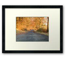 Autumnal North Yorkshire Framed Print