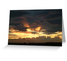 Sunsetting Again Greeting Card