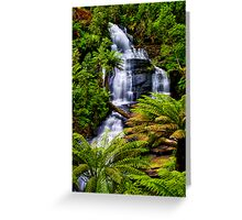 Triplet Falls Greeting Card