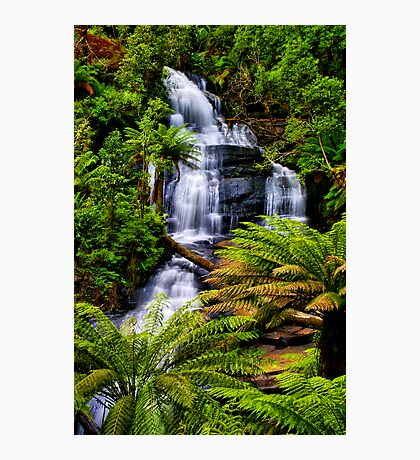 Triplet Falls Photographic Print
