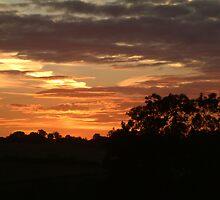 Sunset over North Yorkshire by TREVOR34