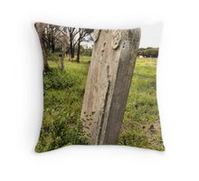 Alberton Cemetery Throw Pillow
