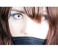 Manga Scarf Photographic Print