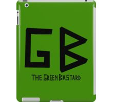 The Green Bastard  iPad Case/Skin