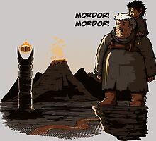 Mordor Hodor by theduc