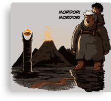 Mordor Hodor Canvas Print