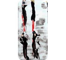 Just Wear Black iPhone Case/Skin