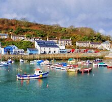 Porthleven Harbour - Impressions by Susie Peek