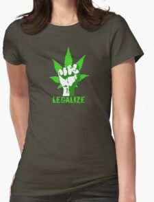 LEGALIZE Womens Fitted T-Shirt
