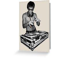 DJ Bruce Greeting Card
