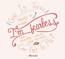 I'm Fearless. by Georgy Roy