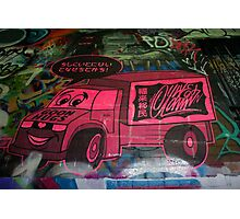 Goon Hugs / Japanese Cars - Hosier Lane, Melbourne Photographic Print