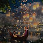 Disney Tangled Disney Rapunzel Floating Lanturns  by notheothereye