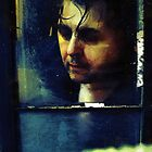 Self Portrait - Through A Window by Barry W  King