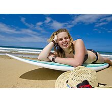Surfer Chick #4 Photographic Print