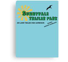 Sunnyvale Trailer Park Canvas Print
