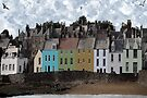 Seaside Village Scene - Anstruther Scotland by simpsonvisuals