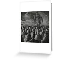 Golem Greeting Card