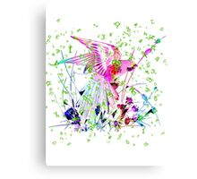 Lovely Parrot. Canvas Print