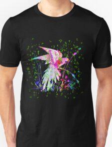 Lovely Parrot. Unisex T-Shirt