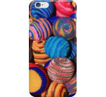 Knit Balls in Many Colors iPhone Case/Skin