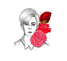 I am your FLOWER BOYFRIEND || Donghyun Photographic Print