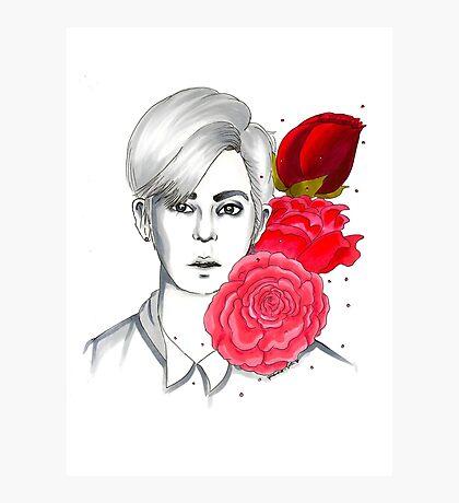 I am your FLOWER BOYFRIEND || Donghyun Photographic Print
