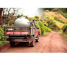 Pickup truck Photographic Print