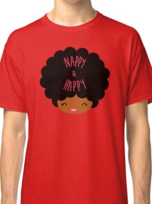 Happy Nappy Afro Classic T-Shirt
