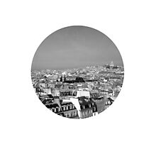 paris on top Photographic Print