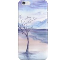 winter background iPhone Case/Skin