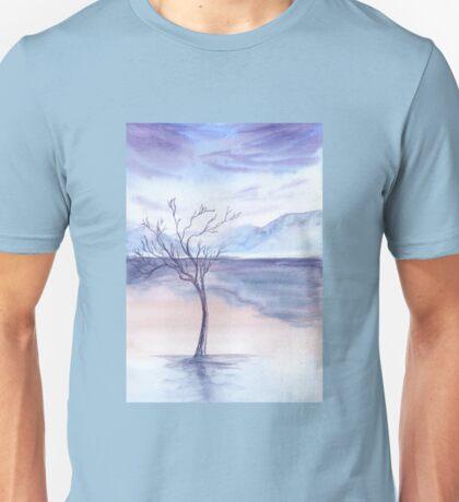 winter background Unisex T-Shirt