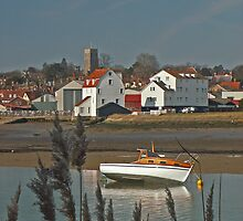 The Deben at Woodbridge by Aidan Semmens