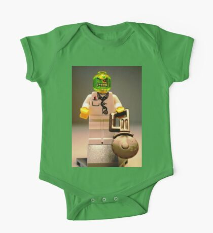 Doctor Toxic with Chainsaw, Custom Minifigure One Piece - Short Sleeve