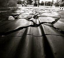 Roman road by Valeria Palombo